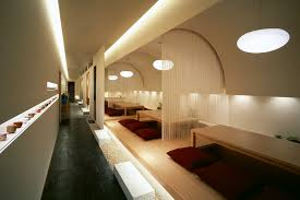 Japanese office design Desk This Project Was To Renovate Japanese Restaurant Lacated In Tokamachi Niigata Japan The Town Is In Snowy Region And Snow Plies Up Around 3meterhigh In The Hathor Legacy Kappo Hisago Restaurant By Ichiro Nishiwaki Design Office Niigata