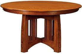 pulaski place amish round dining table