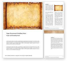 Scroll Template Microsoft Word Scroll Word Template 03378 Poweredtemplate Com