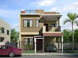 buildings plan:Modern House Design With Rooftop Two Storey Building Designs  Buildings Two Storey Building