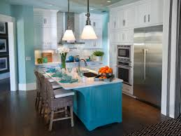 painted kitchen islandsPainting Kitchen Islands Pictures Ideas  Tips From HGTV  HGTV