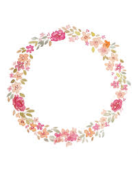 Watercolour Wreath Wallpaper Pinterest