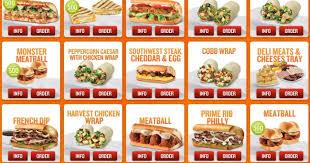 News Quiznos Over 25 New Menu Items Brand Eating