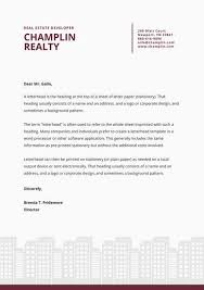 Professional Letterhead Templates Magnificent Dark Red Illustrated Buildings Professional Letterhead