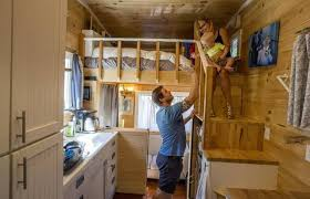 Fine Living In A Tiny House Peter And Shannon Johnson Their Toddler Hart To Inspiration Decorating