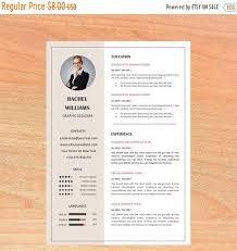 Modern Resume Etsy On Sale Resume Template Cv Template Professional Resume Modern Resume Creative Resume Cv Design Resume Cv Teacher Resume Resume Wor