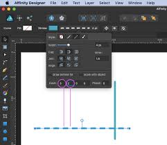 Object determining how to draw the lines for different levels of the style variable. How To Draw A Straight Dotted Line In Affinity Designer