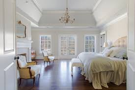 How To Decorate A Tray Ceiling Behr Swiss Coffee White Artistic Living Room Transitional design 24