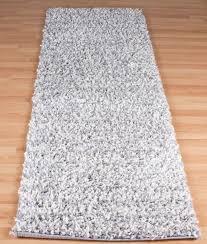 gy silver grey runner rug