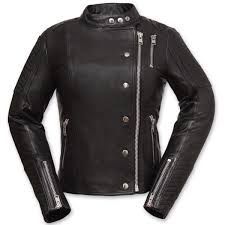 first manufacturing co women s warrior princess black leather jacket