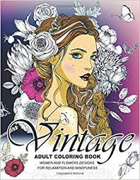 Vintage Coloring Books For Adults An Adult Coloring