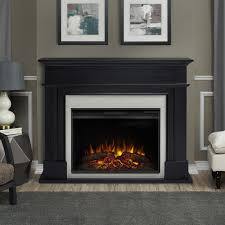electric fireplace in black 8060e