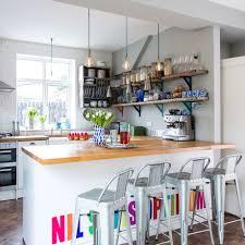 Kitchen Diner Modern Kitchen Diner With Industrial Accessories Ideal Home