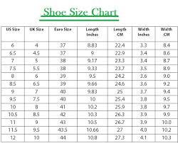 Reebok Shoe Size Chart For Kids Buy Reebok Women Shoes Size Chart 63 Off