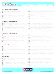 Office Move Checklist Excel Free Template Project Plan Templates