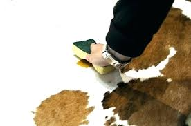 rodeo cowhide soft bristle brush shampoo rug cleaner combo rugs cleaning