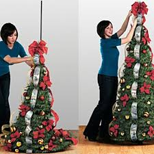 flat to fabulous fully decorated pre lit 6ft christmas tree