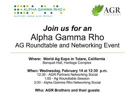 ag roundtable agr networking event