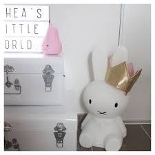 Essi Light Boho_addict Baby Girl Nursery Light Box Rabbit Miffy