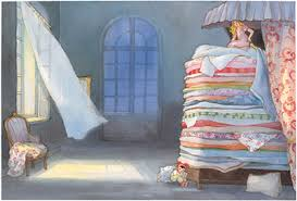 princess and the pea illustration. Interesting Pea From The Princess And The Pea Illustrated By Maja Duskov Intended And Pea Illustration N