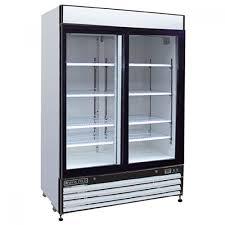 ma cold mxm2 48f 2 glass swing door freezer merchandiser