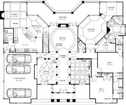 luxury floor plan home amusing modern mansion house plans 6 floorns for mansions 1024 856