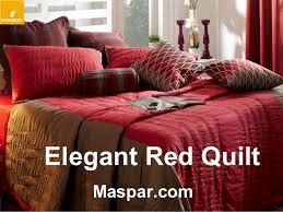 Bed Linen – Buy Quilts Online & Elegant Red Quilt Maspar.com ... Adamdwight.com