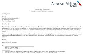 American Airlines Top Executives Drop Any Claim To Severance If