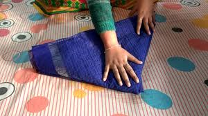 Saree Tray Decoration How to make Fish using a SareeWedding Tray Decoration YouTube 54