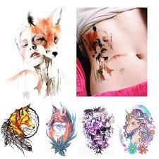купить товар новое прибытие 1 лист временные татуировки наклейки Km
