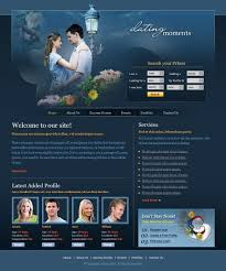 Websites Templates Adorable Dating Moments CSS Template 48 Love Dating Website