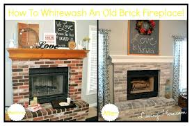 whitewash brick fireplace before and after white wash fireplace how to whitewash brick lime with whitewashed