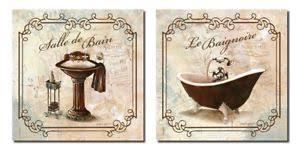 Art for bathroom Small Bathroom Image Is Loading Bathroomwallartbathdecorcanvaspicturesposters Ebay Bathroom Wall Art Bath Decor Canvas Pictures Posters Decorating