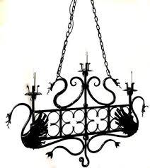 vintage italian wrought iron ceiling