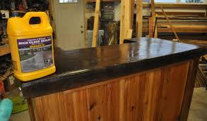 outdoor concrete counter sealer