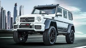 When mercedes introduced the bold, imposing g500 4x4 squared at the 2015 geneva motor show, it said it would consider production based upon the reaction it received. Brabus 700 4x4 Squared Is A Wild Amg G63 Autoblog