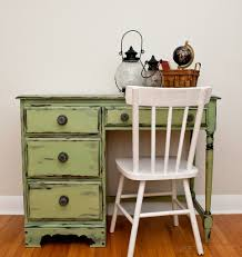 what color to paint furniture. Milk-Painted-Vaseline-Distressed-Dsk What Color To Paint Furniture G