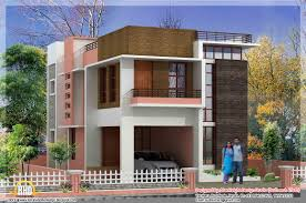 Square Feet Modern Kerala Home Square Feet Bedroom Contemporary - Modern apartment building elevations