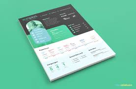 Modern Resume Template In Psd With Cover Letter Zippypixels
