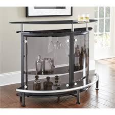 Home bar furniture modern Cheap Steve Silver Ariana Home Bar Cymax Home Bars Cymax Stores