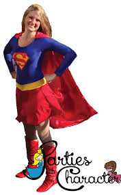 Transparent.Supergirl.Logo - Parties with Character