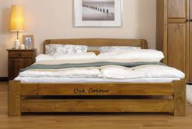 King Size Wood Bed Frame White — Delaware Destroyers Home : Make ...