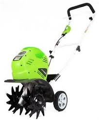 electric garden tiller. Image Is Loading Powerful-Cordless-Electric-Battery-Powered-10-Inch-40V- Electric Garden Tiller