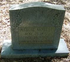 Nellie Cheeseboro Mosley (1893-1982) - Find A Grave Memorial