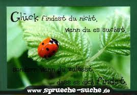 Glück Sprüche Suche