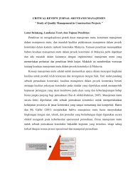 Jurnal ilmu pengetahuan perilaku manusia Contoh Review Jurnal Akuntansi Keperilakuan Jawabanku Id