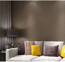 Wall Covering For Living Room Aliexpresscom Buy Haokhome Solid Color Non Woven Wallpaper