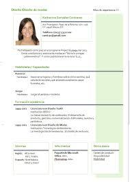 Modelo De Curriculum Para Primeiro Emprego Super Criativo