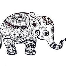 Elephant Mandala Coloring Pages Easy Mandala Coloring Pages Mandala