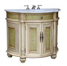 adelina 48 inch antique hand painted bathroom vanity